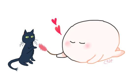 くろみイラスト猫