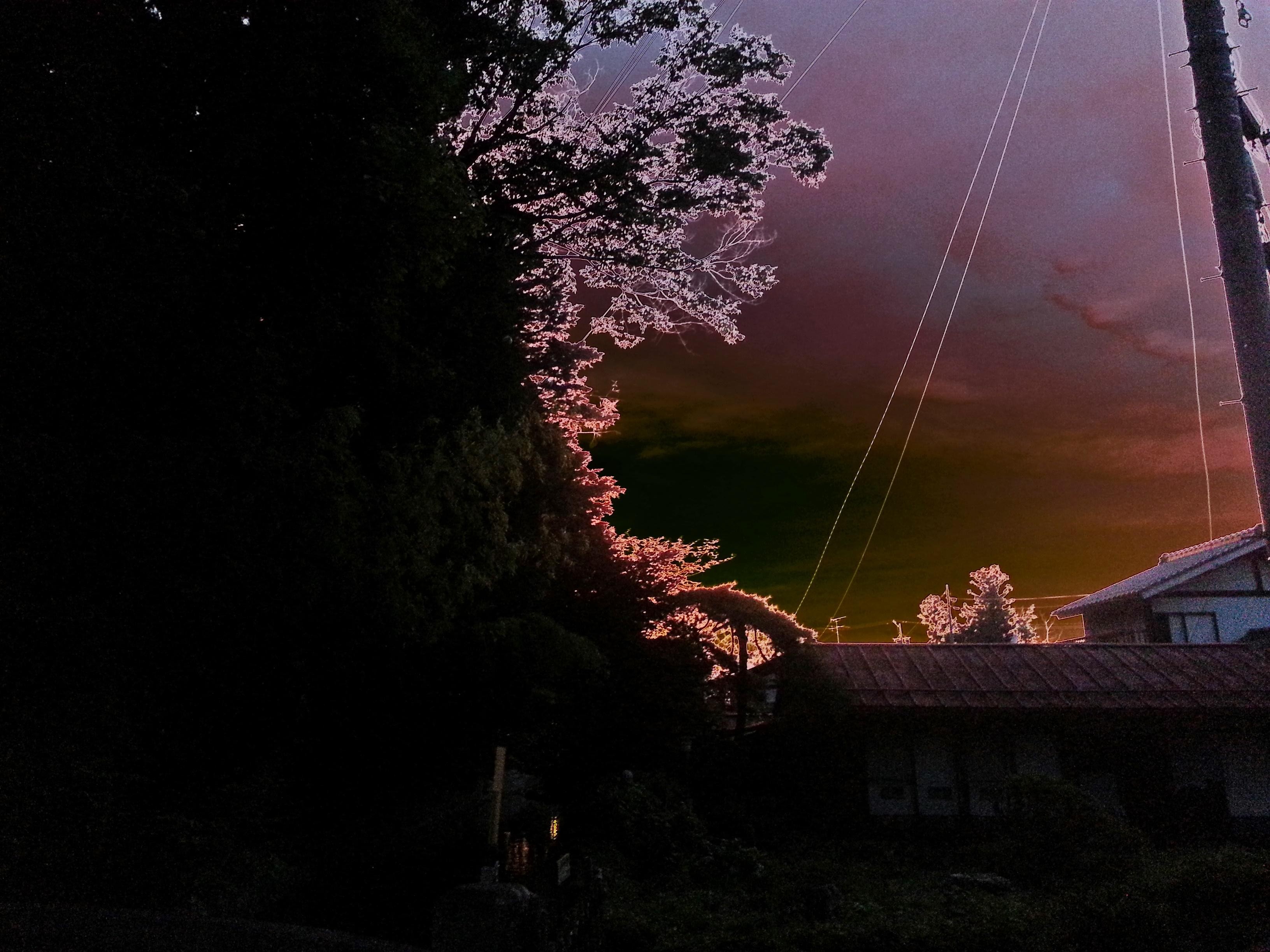 凄い夕焼け02